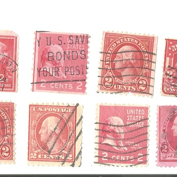 USA POSTAGR STAMPS VERY OLD - Stamps