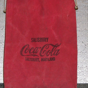 Vintage Coca-Cola Money Bag
