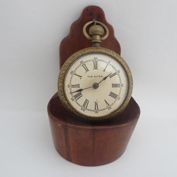 Western Clock Mfg. Co. Pocket Watch