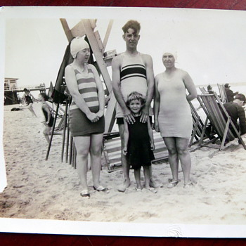 Atlantic City Beach circa. 1920's photography - Photographs