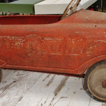 Pedal Car Identification Help