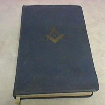MASONIC BIBLE 1968