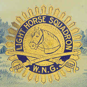 LIGHT HORSE SQUADRON CIGAR (box opener)