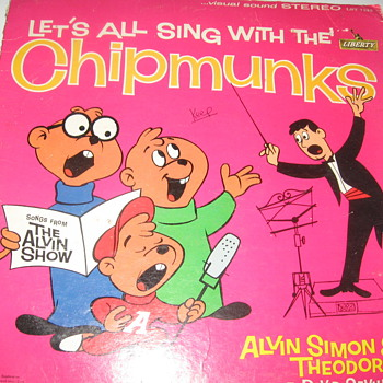 LET'S ALL SING WITH THE CHIPMUNKS 1961
