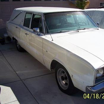 my 1967 dodge hearse