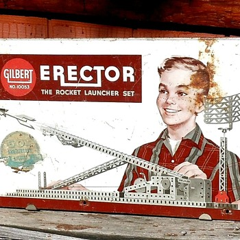 Gilbert Erector The Rocket Launcher Set 50th Anniversary Edition - Toys