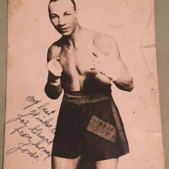 Sonny jones boxer
