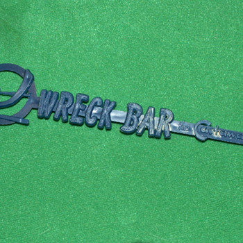 Vintage 1960's the Wreck Bar Swizzle Stick ~ Miami, Florida - Advertising