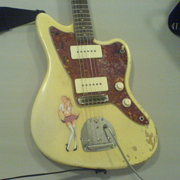 Fender Jazzmaster 1963, Blonde.