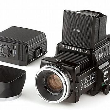 ROLLEIFLEX  SL 66E  CAMERA - Cameras