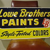 Lowe Brothers Paint sign, Double Side
