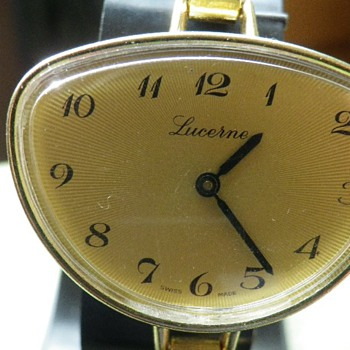 Vintage LUCERNE Swiss Made Art Deco Watch. Looking For Value? - Wristwatches