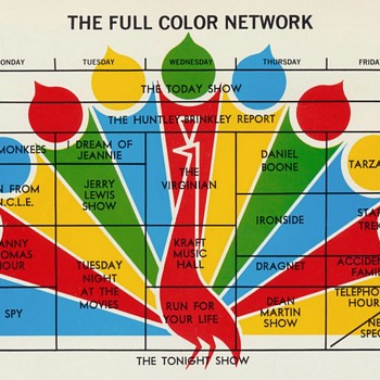 50 years Fun Fact networks go with Full Color  - Paper