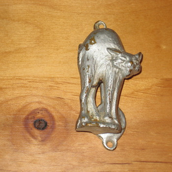 Cat Door Knocker - Tools and Hardware
