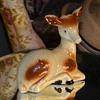 Fabrique au Bresil label on a Porcelain Deer