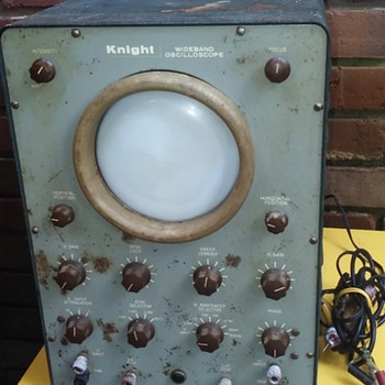 old KNIGHT WIDEBAND OSCILLOSCOPE