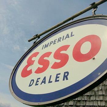 5' X 3' Imperial Esso - Advertising
