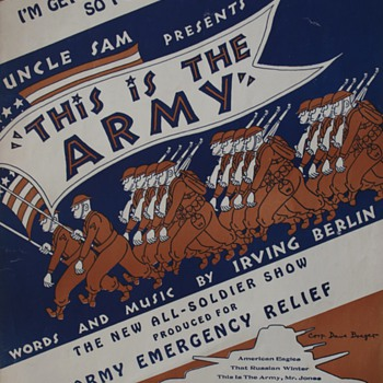 WW II Songsheet…... - Music