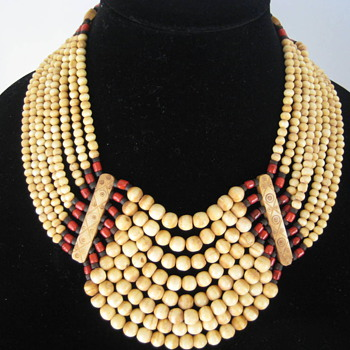 A Spectacular old  statement necklace.