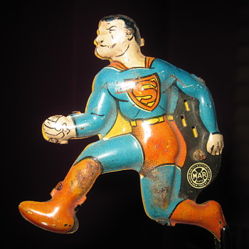 My 1940 Marx Superman Tin Type