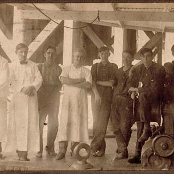 Antique Mystery Occupational Cabinet Photo #1 - Photographs
