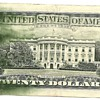 US $20 error note (smear)