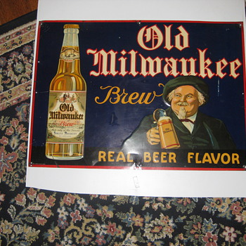 Old Milwaukee Sign