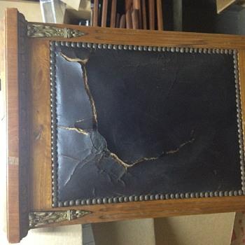 One of 8 Oak Chairs  - Furniture