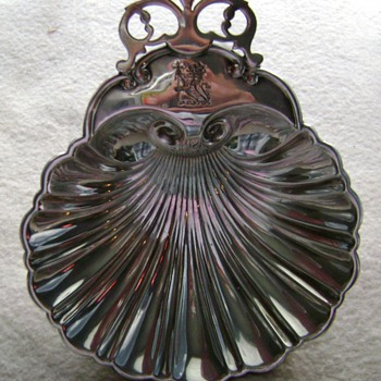 Sterling Shell Dish - Sterling Silver