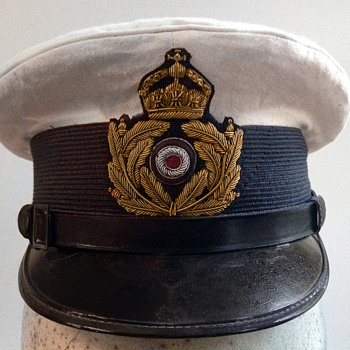 Kaiserliche Marine (Imperial German navy) officer's hat