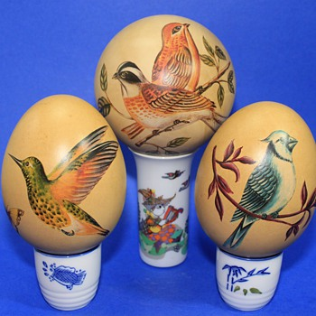 Decorated Eggs - Animals