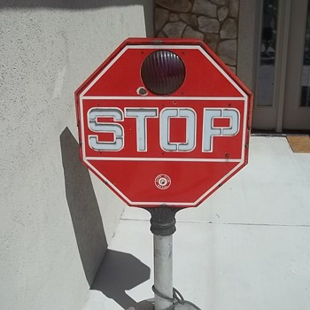 Rare Stop Sign - Signs