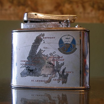 Antique Lighter - Military and Wartime