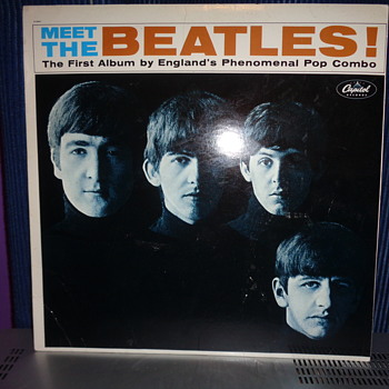 rare label meet the beatles album???