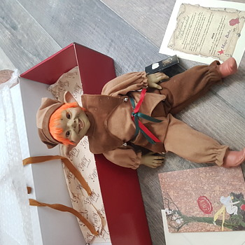 Magic baby Elfos doll called puck
