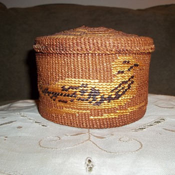 Tsimshian Basket (Native American)