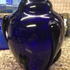 Art Deco Cobalt glass vase