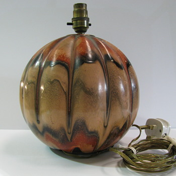 Retro PUMPKIN lamp,who made it and when ?.