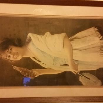 1923 Coca Cola calendar girl