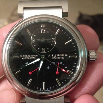 A.Lange & Sohne Chronometer Automatic German Made Watch