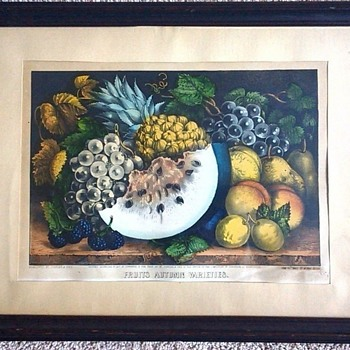ANTIQUE CURRIER AND IVES LITHOGRAPHS - Visual Art