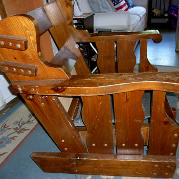Solid Wood Chair #1