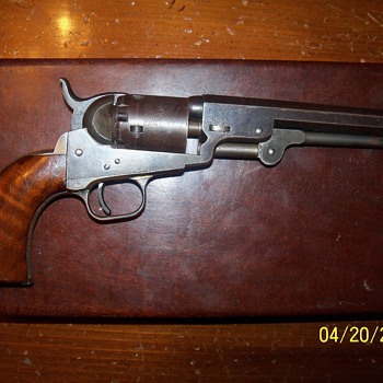 Colt 1849 Pocket Pistol Continued.......