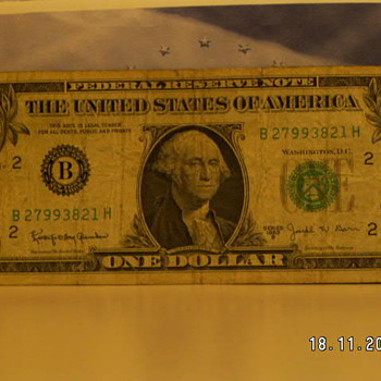 "1963 ""Barr Note"" One Dollar Bill - US Paper Money"