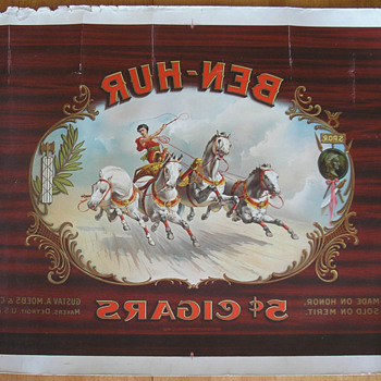 Ben Hur Cigar Art - Tobacciana