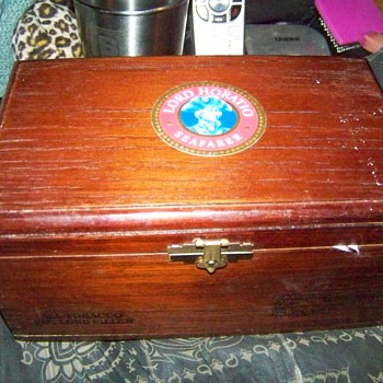 Lord Horatio Seafarer Cigar Box - Tobacciana