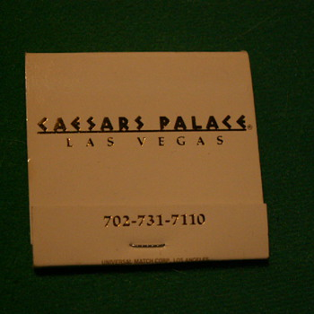 Vintage Caesar's Palace ~ Las Vegas, Nevada - Tobacciana