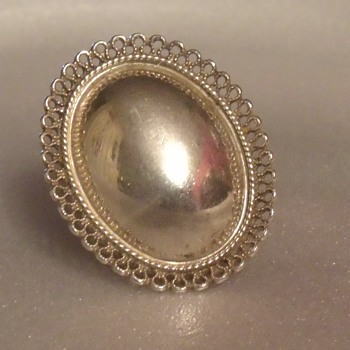 Sterling Silver Ring - Fine Jewelry