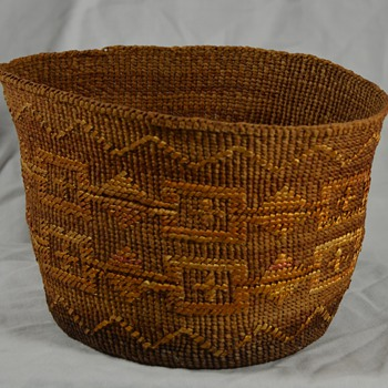 Unknown Native Basket - Native American