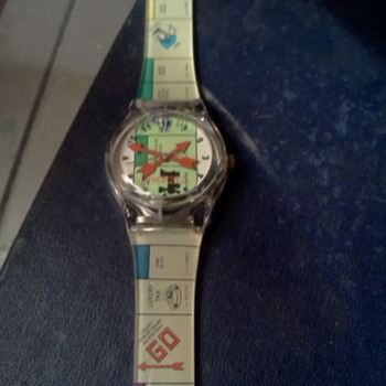 Monopoly watch. - Wristwatches